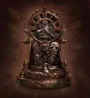 Old Clock by squiffel