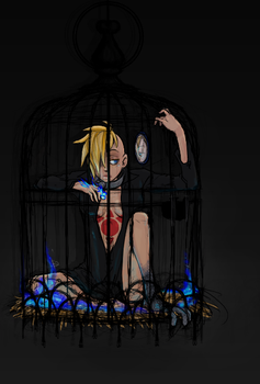 OP Caged bird by Nire-chan