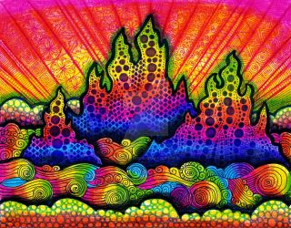 Rainbow Mountains (FOR SALE) by HGCreations