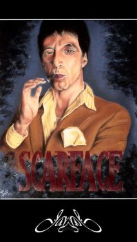 SCARFACE by chico2083hood