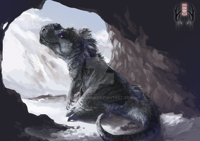 SpeedPainting Commission - T-Rex by SorahChan