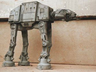 AT-AT Walker star wars by hannay1982