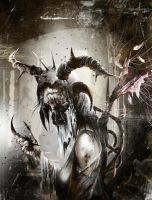 Nephishim -The WitchAngel of Maggots by Karbonk