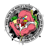 The World's Pusher - 2012 by luvataciousskull