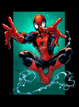 Spidey Colors by AnEvilKid