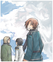 APH: Beneath the Sky by Lihery