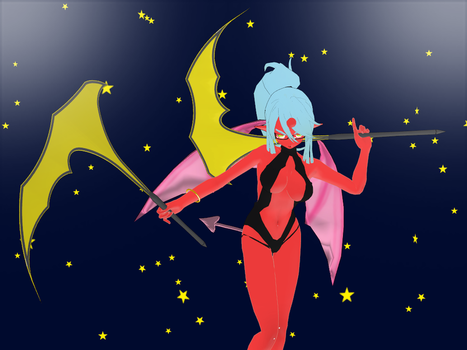 3DCG Scanty kneesocks Weapons by hadoc