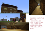 Mansion Survival Minecraft Map by CielPhantomhive2014