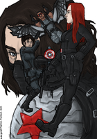 Winter Soldier by LadyNorthstar