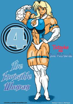 Tetsuko as The Invisible Woman!!! by camuskilller1904