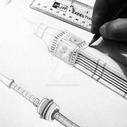 Architecture sketch by Artsforall12
