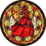 SG: Princess of Heart: Deadpool by Akili-Amethyst