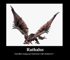 Rathalos by Hehlfire