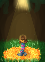 ...:UNDERTALE:... by OX3400-2
