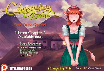 (Animated) New Free Demo Content - Changeling Tale by LittleNapoleon0