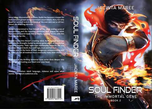 Soul Finder - Cover Reveal by JacintaMaree