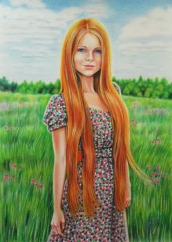 Meadow by evlena