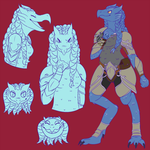 Commission | Sketch Page by Geo-Space