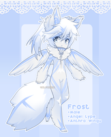 .:CLOSED ADOPT:. WingupuffxTAMED Frost by Valyriana