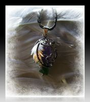 'Amulet of the nigth elves' (for sale) by seralune