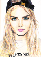 cara delevingne by chemcial23