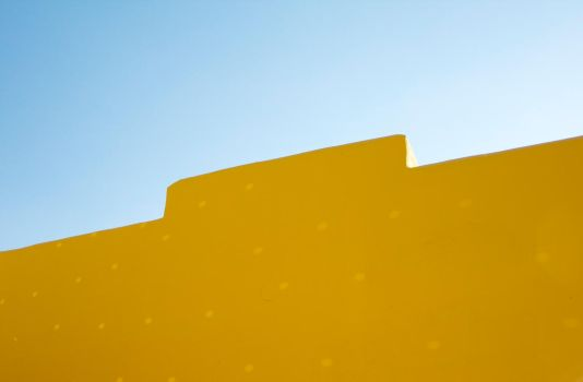 BLUE AND YELLOW by tibophotos