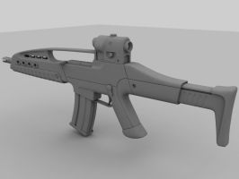 XM8 Assault Rifle by lhnova