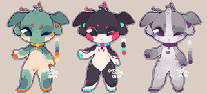 $7 alien doggo adopts (closed) by ChinoAdopts