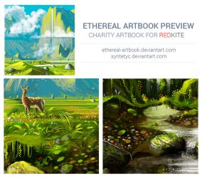 Ethereal Artbook Preview by Syntetyc