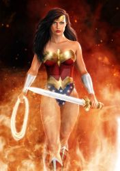 Diana of Themyscira by SimonPovey