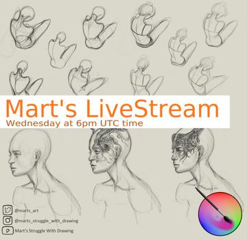 My first Live stream by MarTs-Art