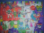 90s Old School Classic Cartoon Drawing Part 4 by NWeezyBlueStars23