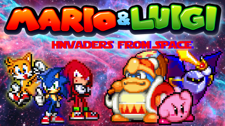 Mario and Luigi: Invaders from Space (Part 3) by SuperShadeMario