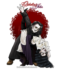 Penny Dreadful - OpheliaxJohn - Eat this! XD by RedPassion