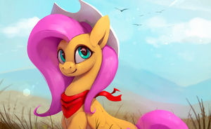 Fluttershy Sky by Rodrigues404