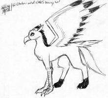 not a dream gryphon by Talec