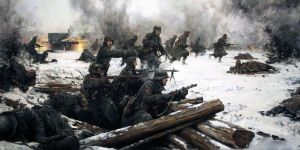 The Spanish Wehrmacht in the frozen land of Russia by someone1fy