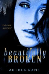 Beautifully Broken Book Cover by DLR-Designs