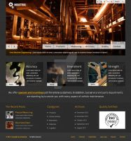 Barcelona WP Theme - INDUSTRIAL Showcase Example by ait-themes