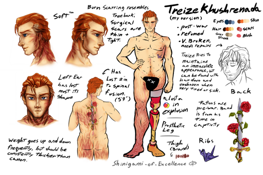 Treize Reference by Excellency-Shinigami