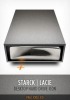 Starck Hardrive Icon by Leo6247