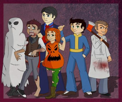 Fallout Halloween by TragicFangirl
