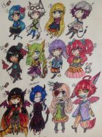 15-25 pts (Closed) Mixed Adopts by GhostiTrash