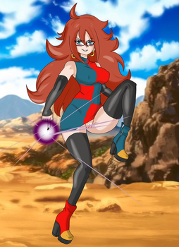 Android 21 by ProtoScene