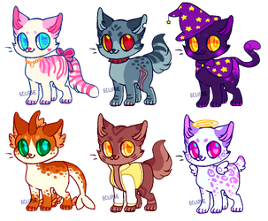 more kitty adopts | OPEN | by ECLlPSE