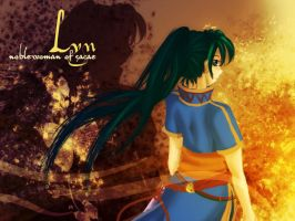 Lyn: Noblewoman of Sacae by Protowing