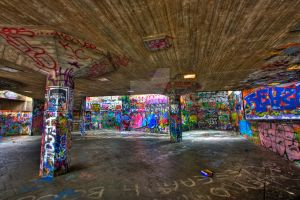 London Graffiti - Exclusive HDR by boldfrontiers