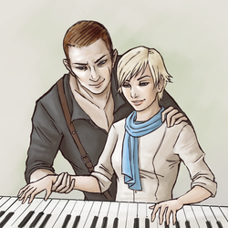 Jake x Sherry - Piano Lessons by Belderiver