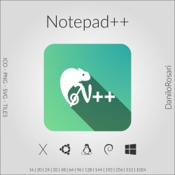 Notepad++ - Icon Pack by DaniloRosari