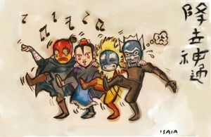 Masked Dance of Glee - 3 Days by Isaia
